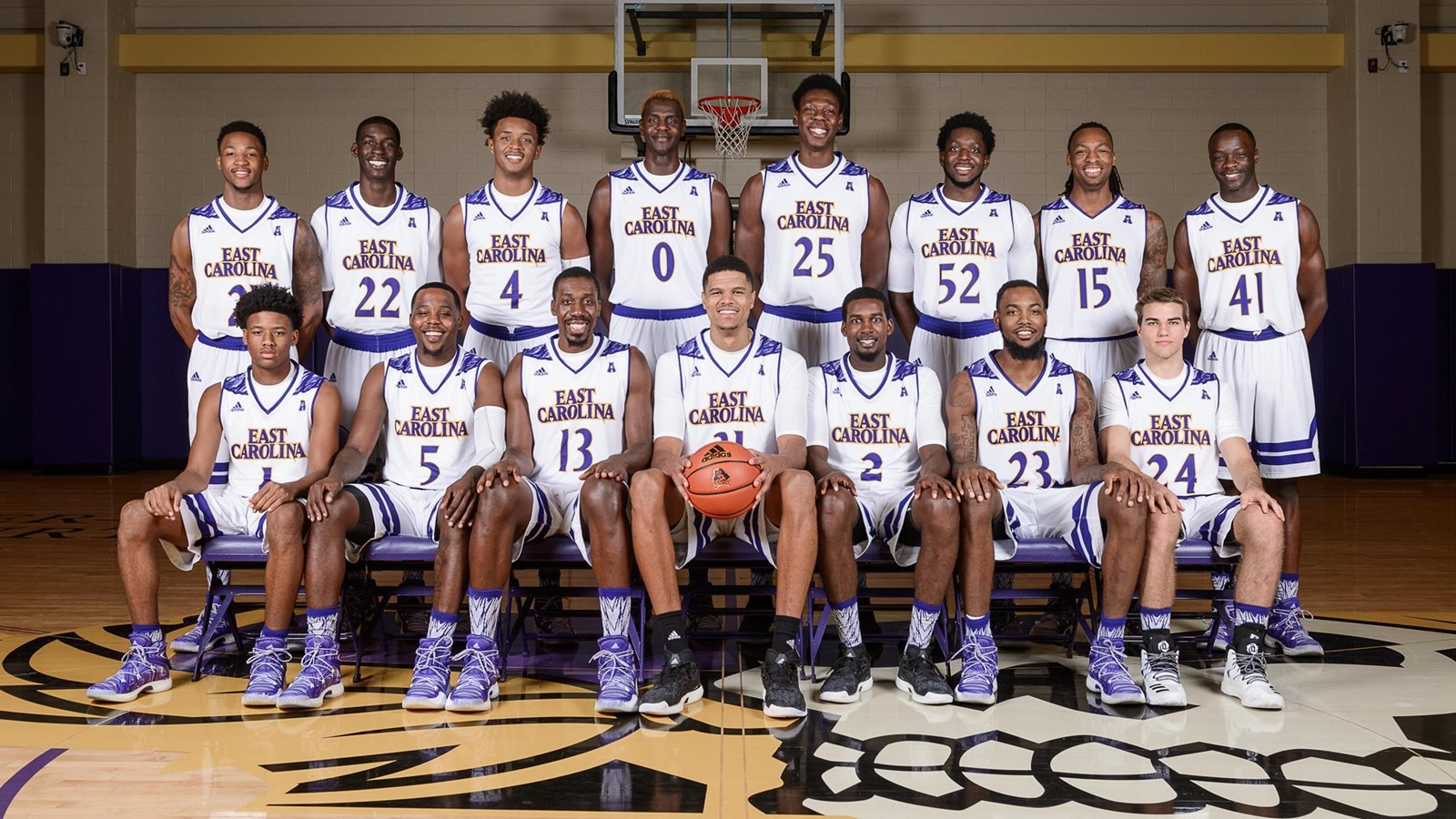 c2132241e 2016-17 Men s Basketball Roster - East Carolina University Athletics