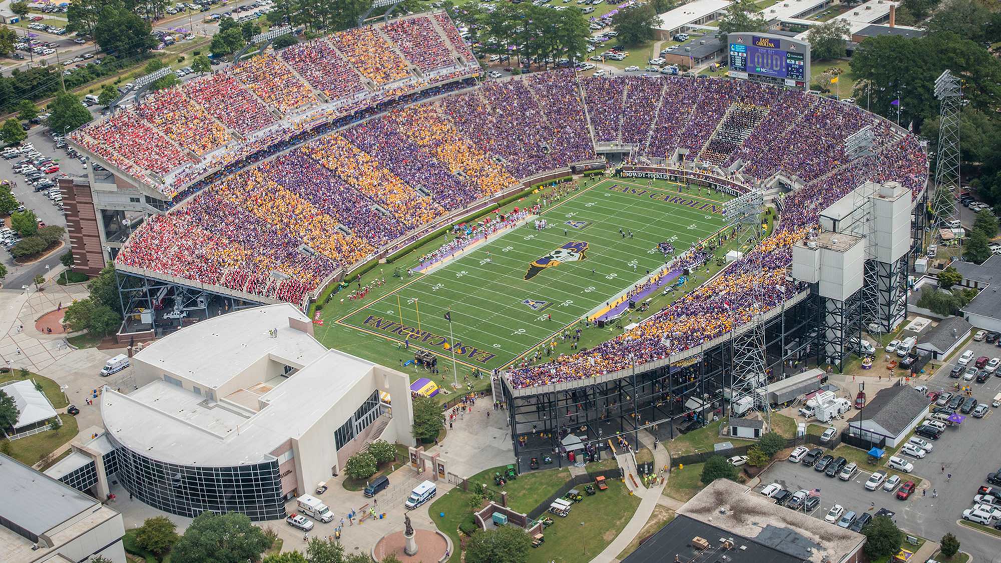 Image result for ECU football stadium
