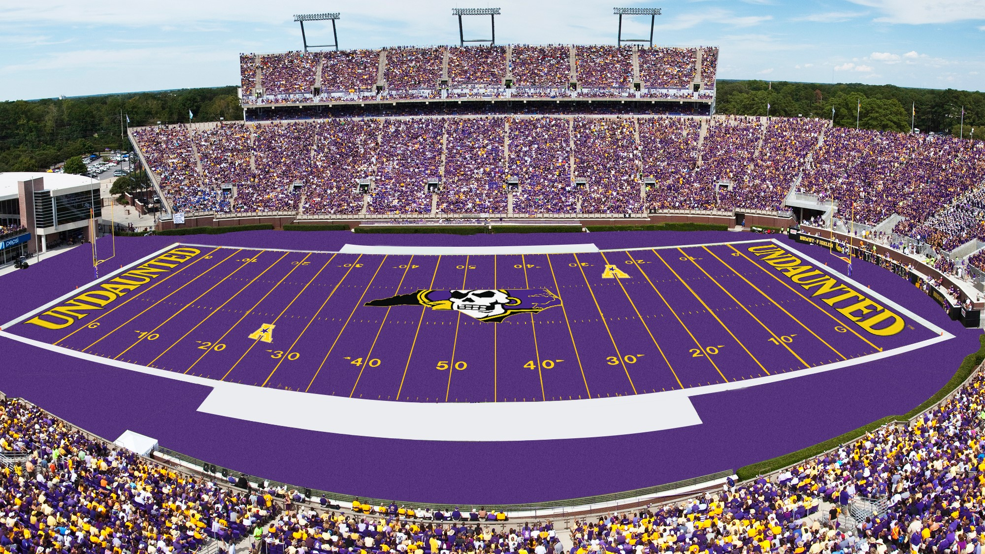 94230e659 Bagwell Field  Paint It Purple! - East Carolina University Athletics