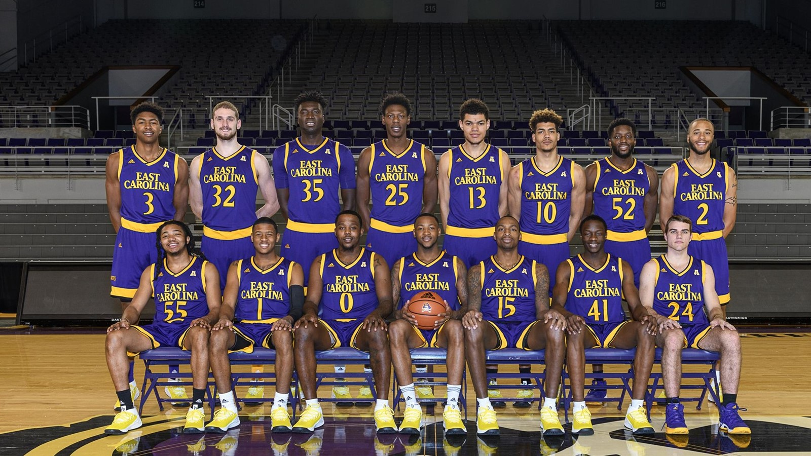 a070130c3 2017-18 Men s Basketball Roster - East Carolina University Athletics